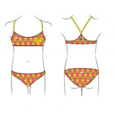 PINEAPPLES ONLY HAPPY BIKINI MINI