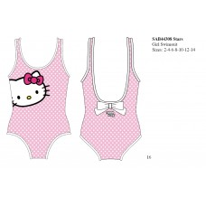 Hello Kitty Pink Stars Swimsuit
